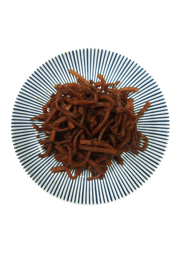 蒜茸豆乾絲 2